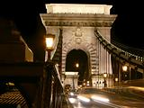 Budapest, chainbridge entrance