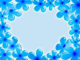 Flowers frame