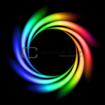 Abstract Rainbow Ray