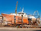 Shipyard.