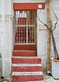 Typical house in oldtown centre of Polignano. Apulia.