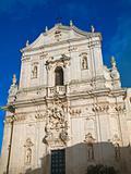St. Martin Cathedral. Martina Franca. Apulia.