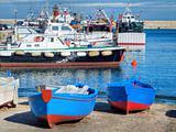 Touristic port of Monopoli. Apulia.