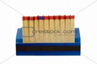 matches row