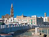 Panoramic view. Monopoli. Apulia.