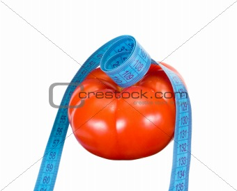 tomato and tape measure