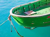 Close up of boat
