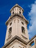 Belltower of St. Leonard convent. Monopoli. Apulia.
