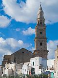 Monopoli Cathedral. Apulia.
