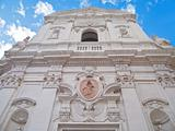 St. Maria del Carmine church. Martina Franca. Apulia.