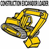 Construction Excavator Loader