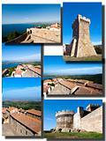 Collage Baratti and Populonia