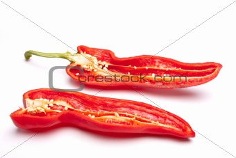 Sliced Sweet Pepper