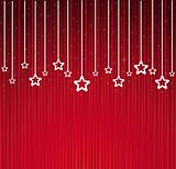 Abstract Christmas stars background
