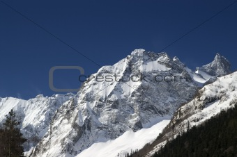 Caucasus Mountains. Sofrudzhu.