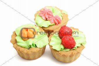 Three pastries