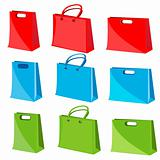 collection of shopping bag