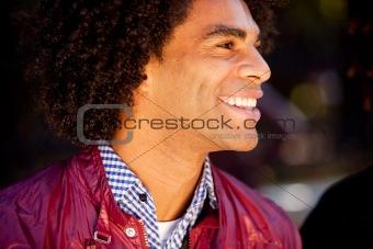 Candid Man Portrait