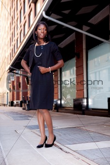 Business Woman on Street
