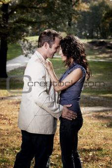 Close Couple Portrait
