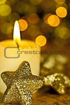 Candle and Stars.