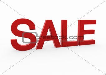 3d red white sale