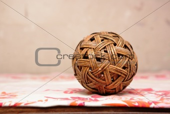 old Chinese toy ball