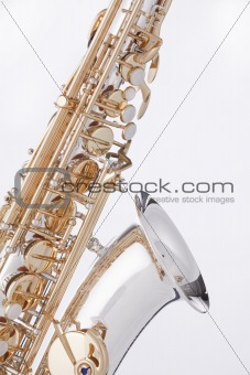 Saxophone Alto Isolated On White