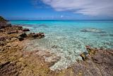 Reef and blue lagoon