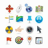 pointers icon set