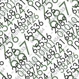 Seamless mathematical pattern