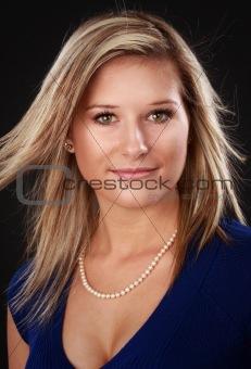 beautful blond woman