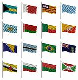 National flags B