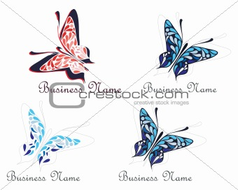 Flying butterfly - company name
