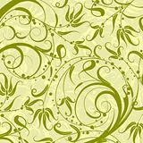 Decorative floral pattern, vector