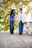 Couple Walk Bridge