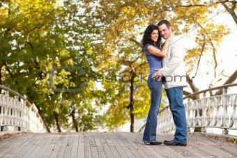 Smile Engagement Couple