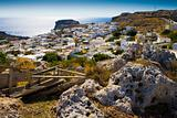 The ancient city to the sea on the Mediterranean coast