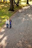 Couple Park Walk