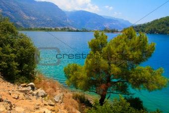 Turkey. Oludeniz. Blue lagoon