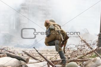 Battle incident