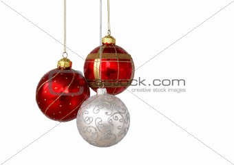 Three decoration balls