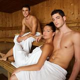Sauna, spa therapy