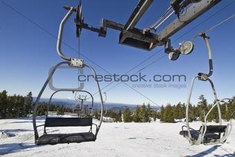 Ski Lifts at Mount Hood