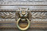 Lion Head Bronze Door Knocker