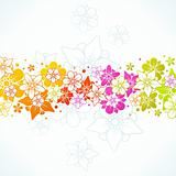 Floral colorful background 14