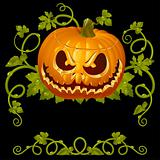 Pumpkin Jack vintage pattern