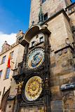 Fascinating very old Prague Astronomical Clock -Prague Orloj