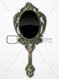 ancient hand mirror