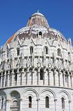 Baptistry of St. John in Pisa, Italy